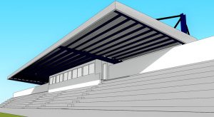 Image of Open roof of the Municipal Stadium – Angra do Heroísmo