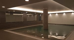 Image of Indoor Pool remodeling – Caracol Hotel